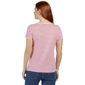 Regatta Olwyn T-Shirt Women true red stripe